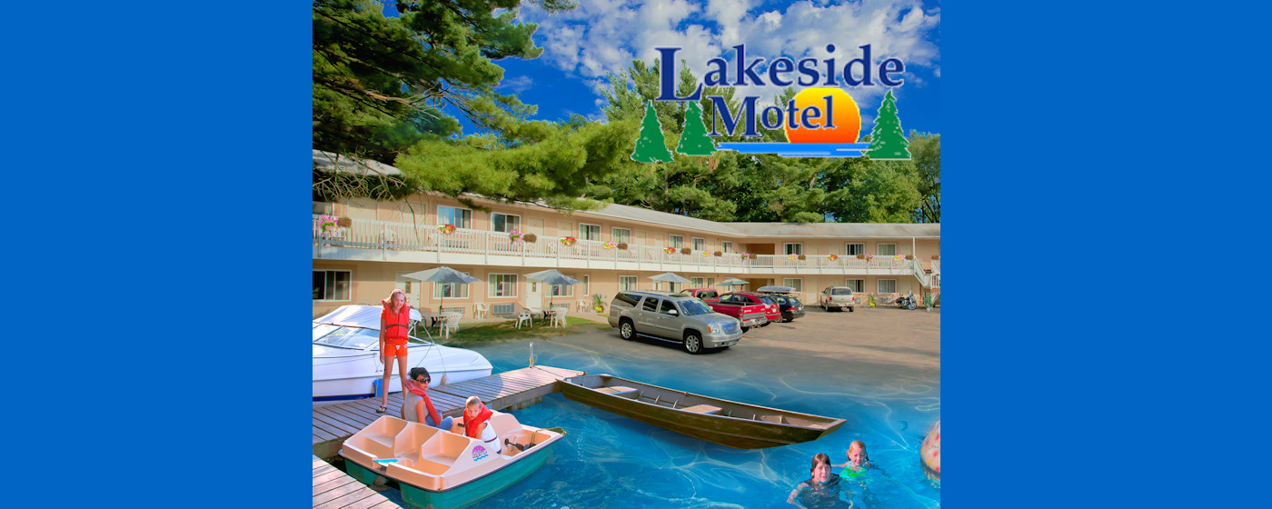 <strong>Welcome to the Lakeside Motel</strong>